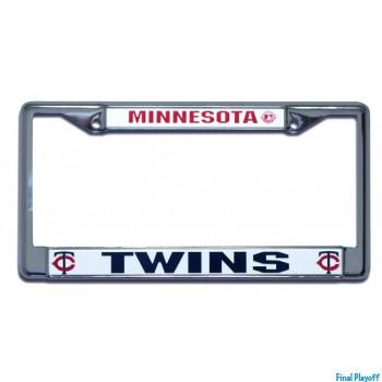 Minnesota Twins license plate frame holder | Final Playoff
