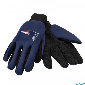 New England Patriots utility gloves | Final Playoff