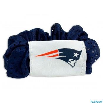 New England Patriots hair scrunchie | Final Playoff