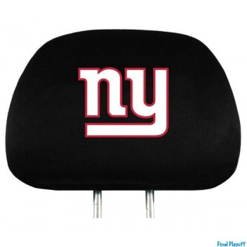 New York Giants headrest covers 2pc | Final Playoff