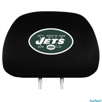 New York Jets headrest covers 2pc | Final Playoff