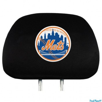 New York Mets headrest covers 2pc | Final Playoff