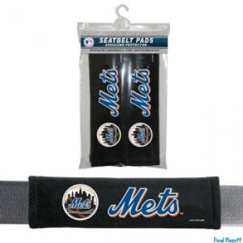 New York Mets seat belt pads | Final Playoff