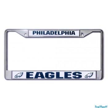 Philadelphia Eagles license plate frame holder | Final Playoff