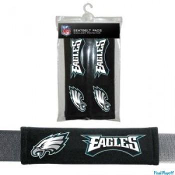 Philadelphia Eagles seat belt pads | Final Playoff