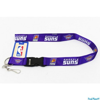 Phoenix Suns lanyard keychain detachable | Final Playoff