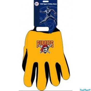 Pittsburgh Pirates two tone utility gloves | Final Playoff