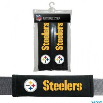 Pittsburgh Steelers seat belt pads | Final Playoff