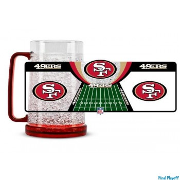 San Francisco 49ers freezer mug | Final Playoff