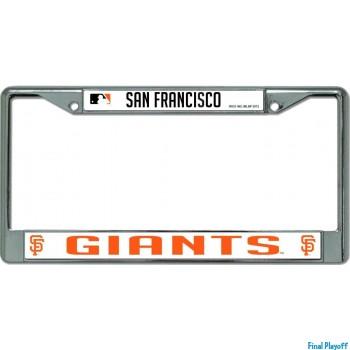 San Francisco Giants license plate frame holder | Final Playoff