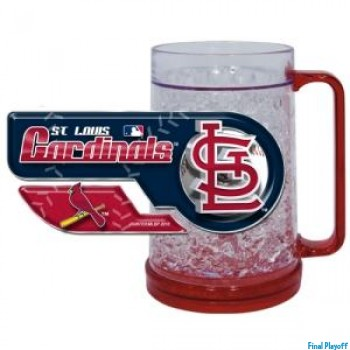St. Louis Cardinals freezer mug | Final Playoff