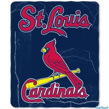 St. Louis Cardinals fleece throw blanket | Final Playoff