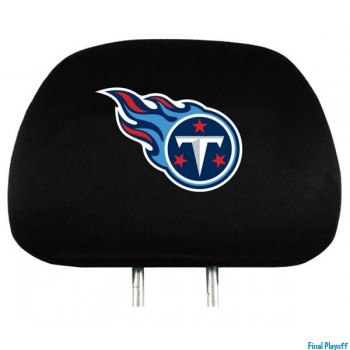 Tennessee Titans headrest covers 2pc | Final Playoff