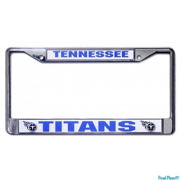 Tennessee Titans license plate frame holder | Final Playoff
