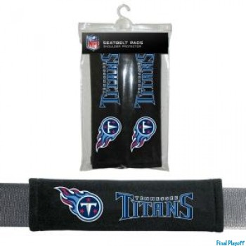 Tennessee Titans seat belt pads | Final Playoff