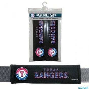 Texas Rangers seat belt pads | Final Playoff