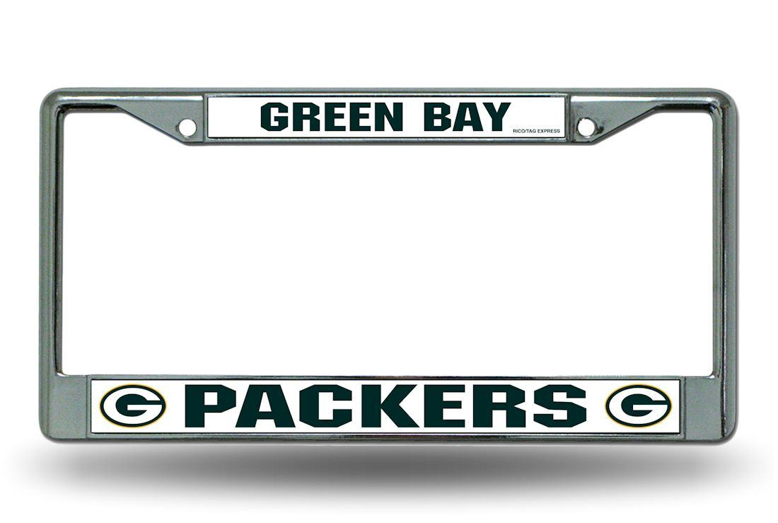 Green Bay Packers License Plate Frame Holder Final Playoff