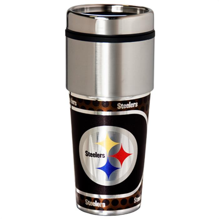 Pittsburgh Steelers Travel Mug Tumbler Final Playoff