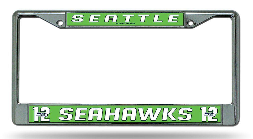 Seattle Seahawks License Plate Frame Holder 12th Final